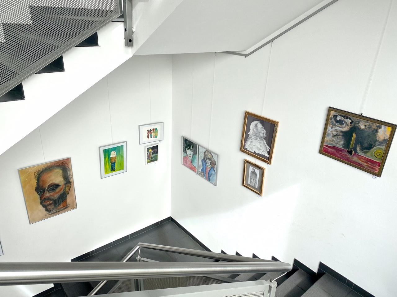 Blick ins Treppenhaus 1
