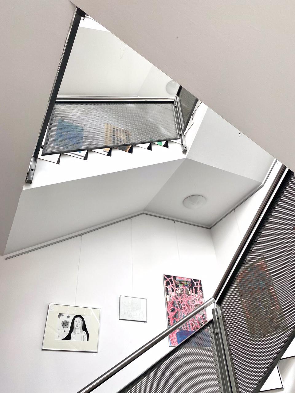 Blick ins Treppenhaus 2
