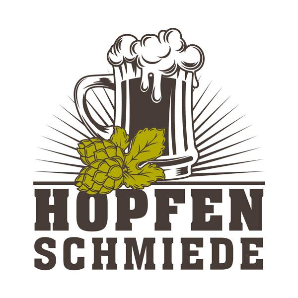 Logogestaltung für eine Brauerei