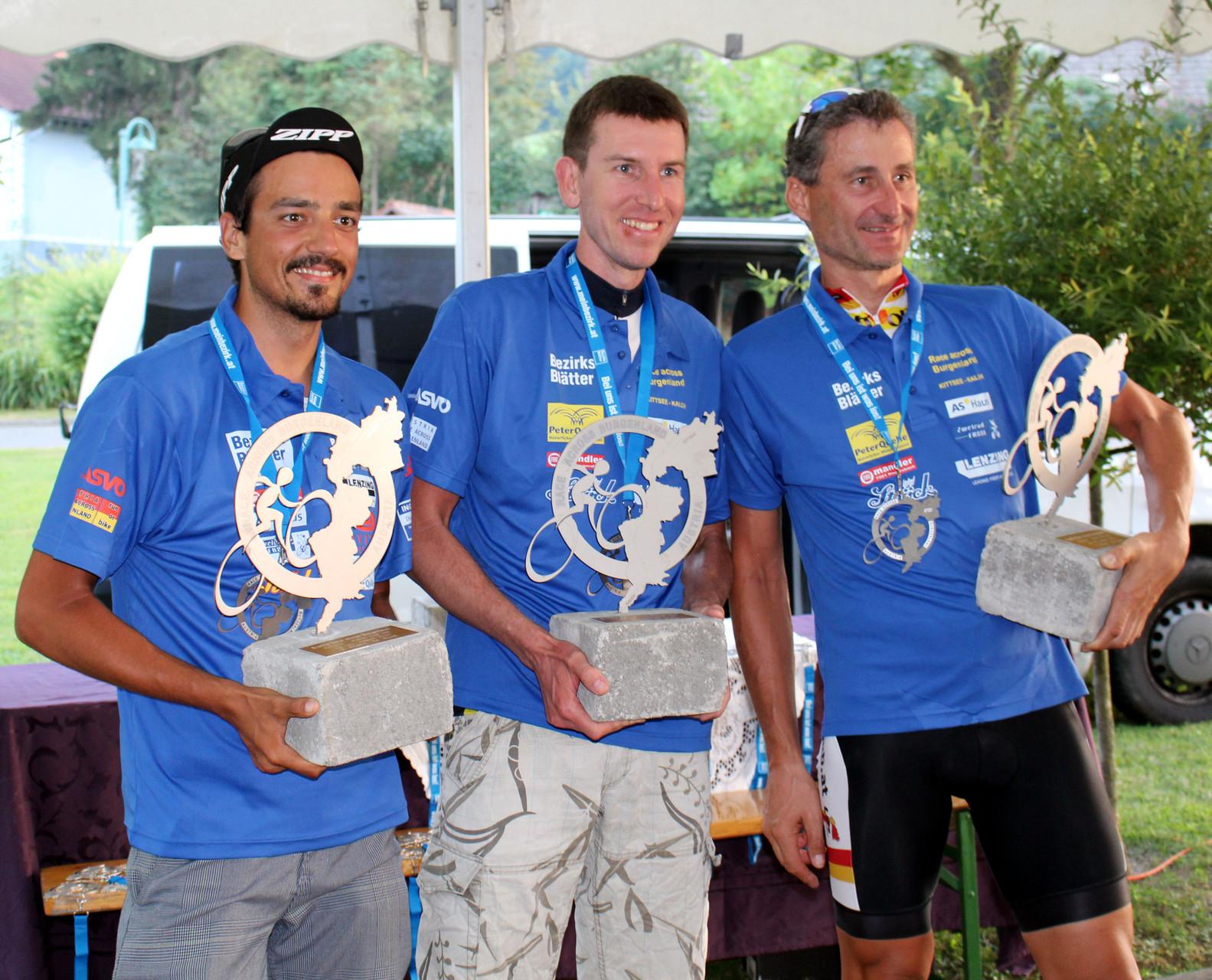 Der Sieger Dr. Krisztian Molnar (Mitte)