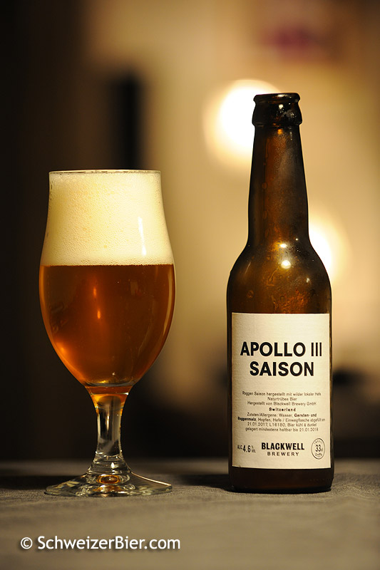 Apollo III Saison - Blackwell Brewery