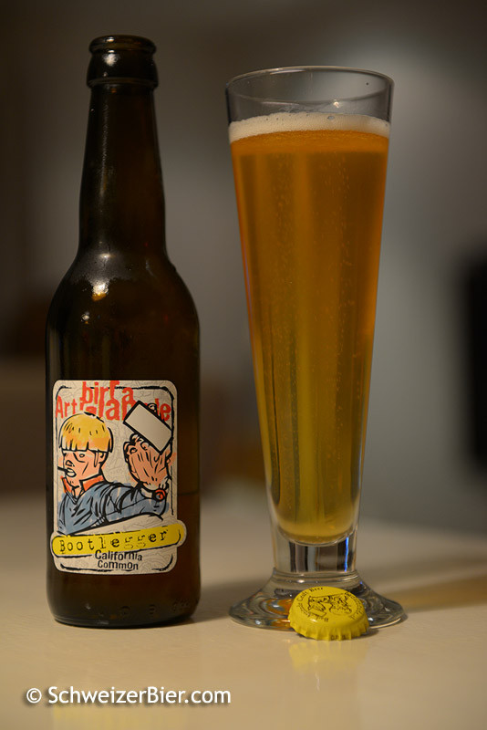 Bad Attitude - Birra Artigianale - Bootlegger - California Common