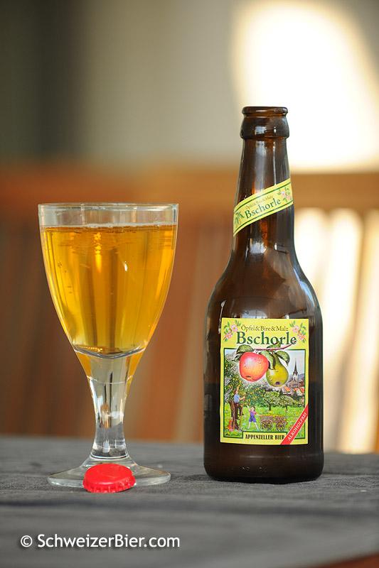 Bschorle alkoholfrei - Appenzeller Bier