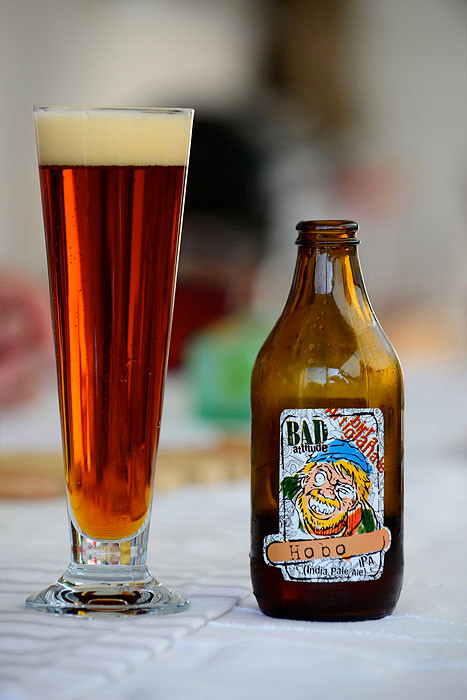 Birra Bad Attitude - Hobo - Birra Artigianale - India Pale Ale