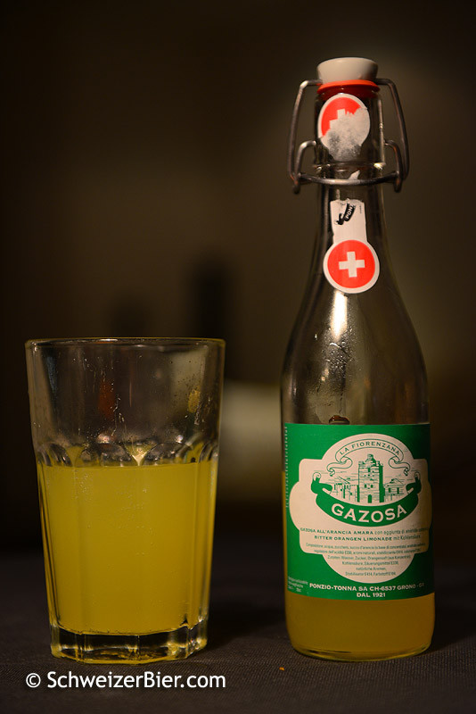 Gazosa Bitter Orangen Limonade