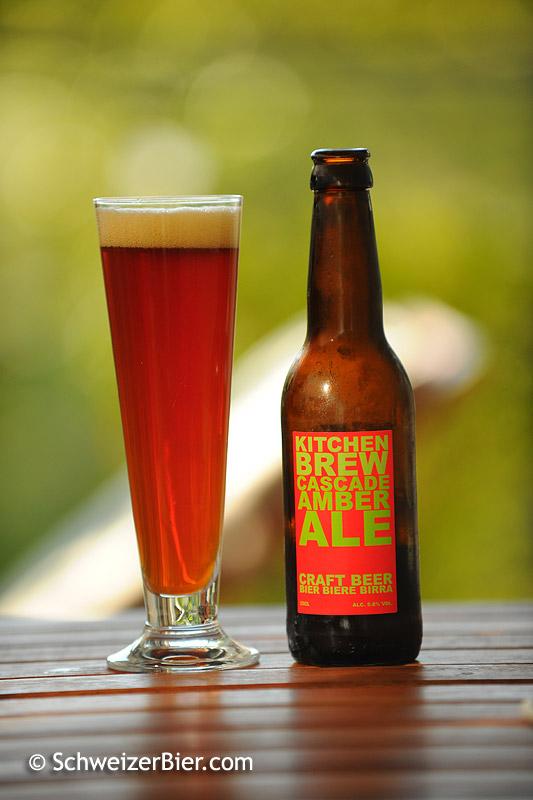 Kitchen Brew - Cascade Amber Ale