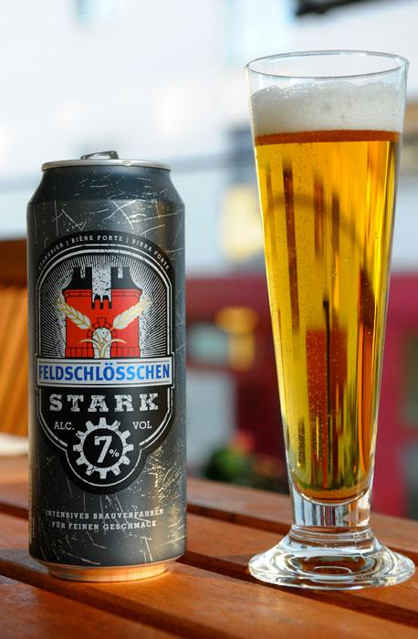 Feldschlösschen Stark Bier Aludose