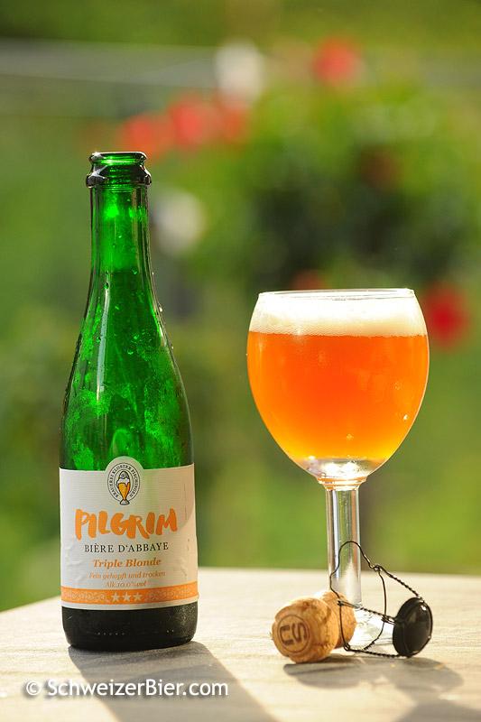 Pilgrim - Bière d'Abbaye - Triple Blonde