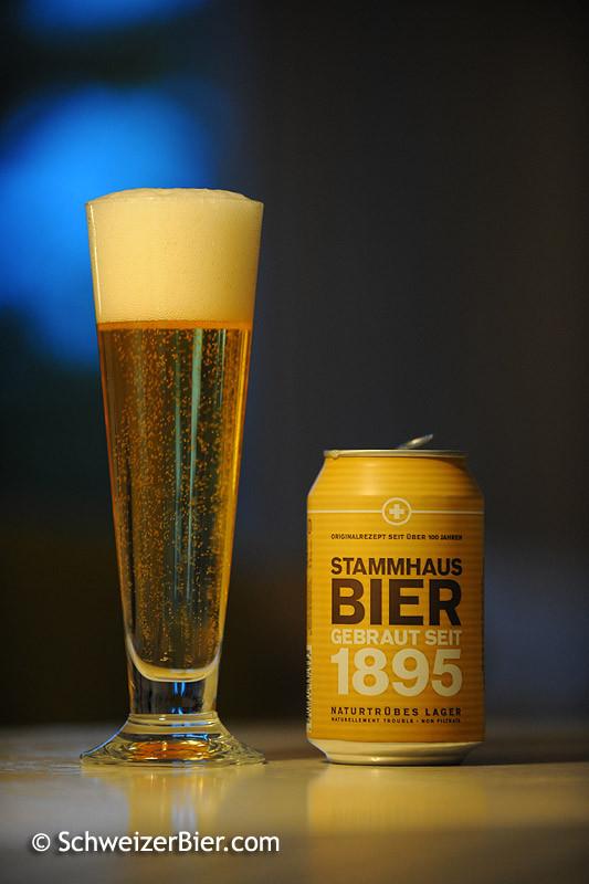 Falken Stammhaus Bier - Gebraut seit 1895 - Naturtrübes Lager
