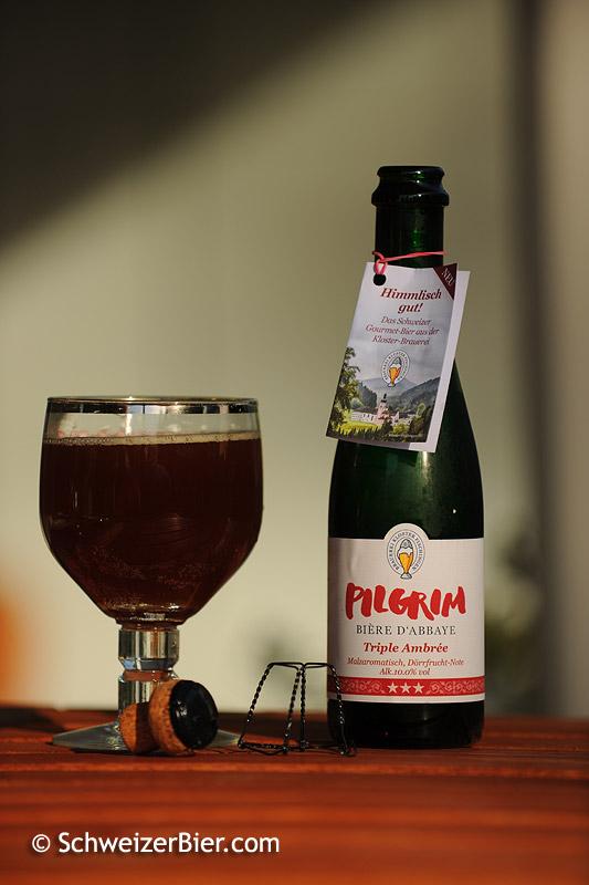 Pilgrim - Bière d'Abbaye - Triple Ambrée