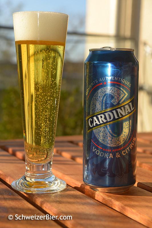 Cardinal Vodka & Citrus