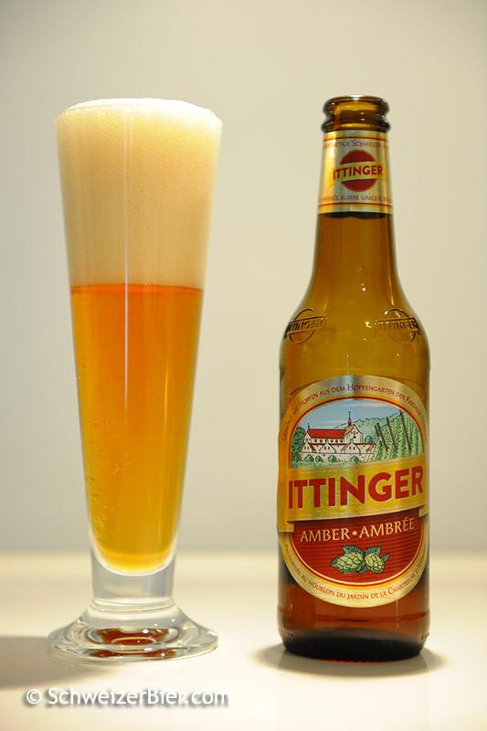 Ittinger Klosterbräu - Amber - mit neuer Etikette