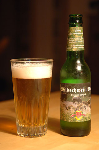 Müllerbräu Wildschwein Bier