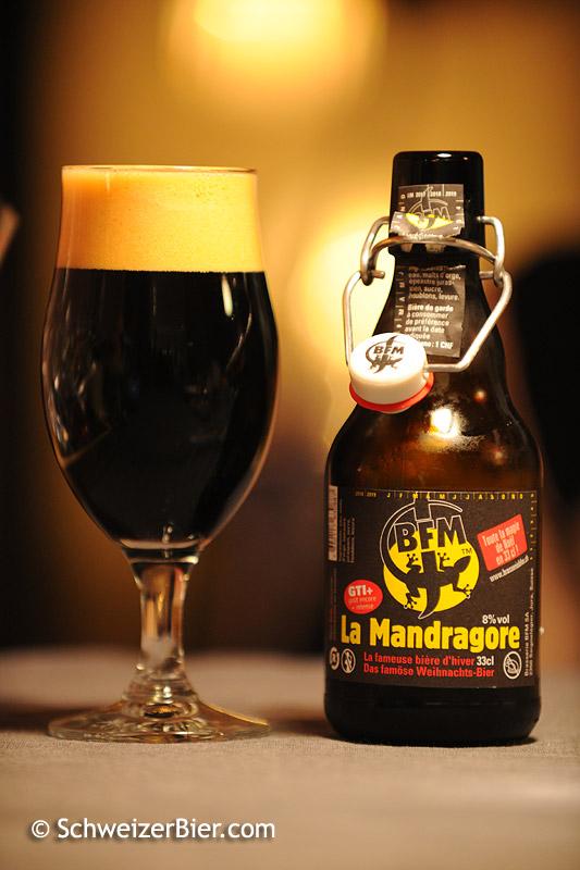 La Mandragore - Bière Franches Montagnes