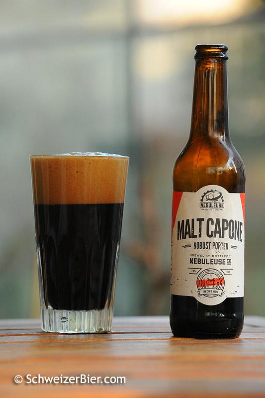 La Nebuleuse - Malt Capone - Robust Porter