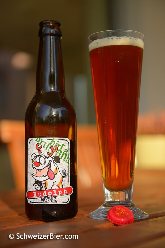 Bad Attitude - Birra Artigianale - Rudolph Winter Warmer