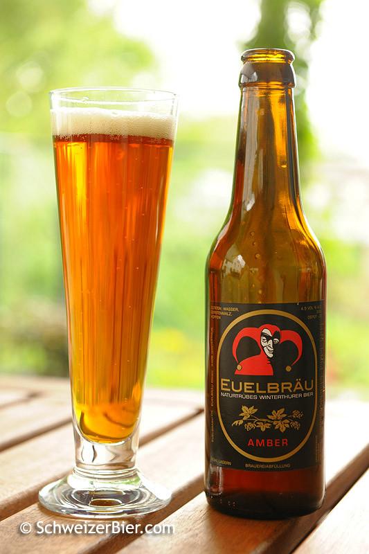 Euelbräu - Naturtrübes Winterthurer Bier - Amber