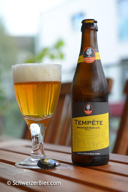 Docteur Gab's Tempête - Biere artisanale blonde sur lie