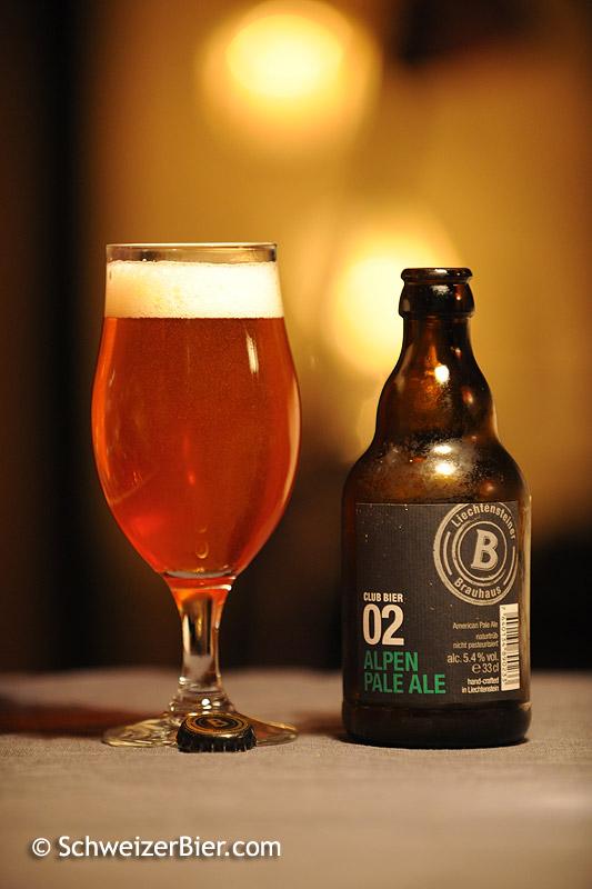 Alpen Pale Ale - Club Bier 02 - Liechtensteiner Brauhaus