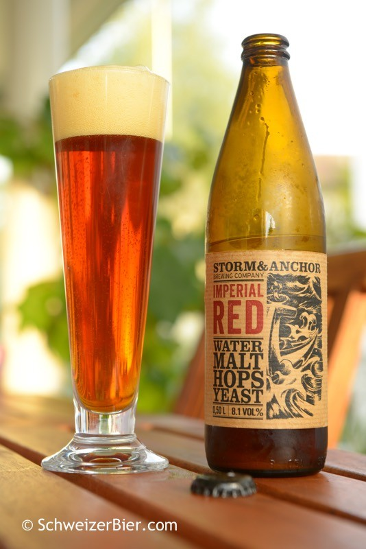 Storm & Anchor - Brewing Company - Imperial Red
