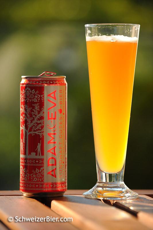 Falken Adam & Eva - sündhaft Gutes Bier - mit Apfelsaft - Aludose