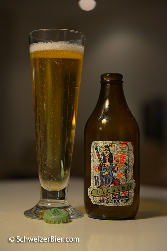 Bad Attitude - Birra Artigianale - Hipster - Pilsener - Organic Wine