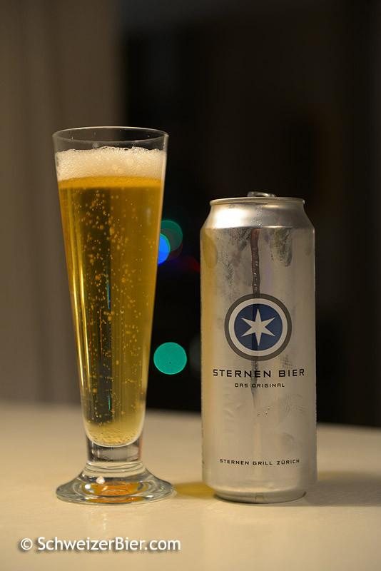 Sternen Bier - Das Original  vom Sternen Grill Zürich, gebraut bei der Falken