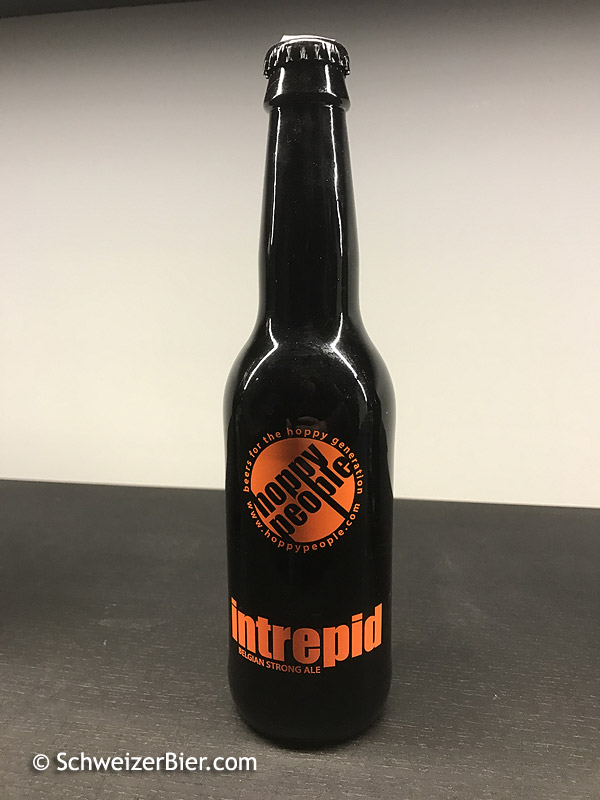 Intrepid - Belgian Strong Ale - hoppy people