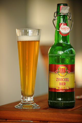 Müllerbräu Zwickel Bier