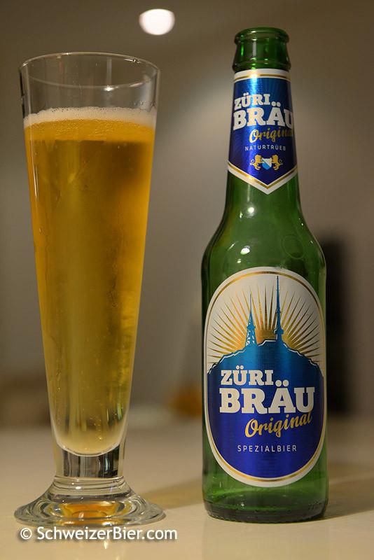 Züri Bräu Original - Spezialbier - Naturtrüeb