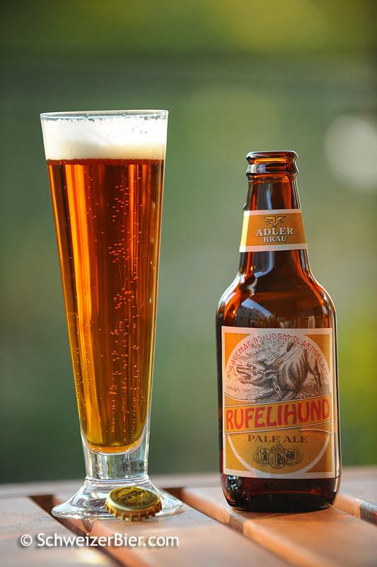 Adler Bräu - Rufelihund - Pale Ale - Saagehafts us em Glarnerland