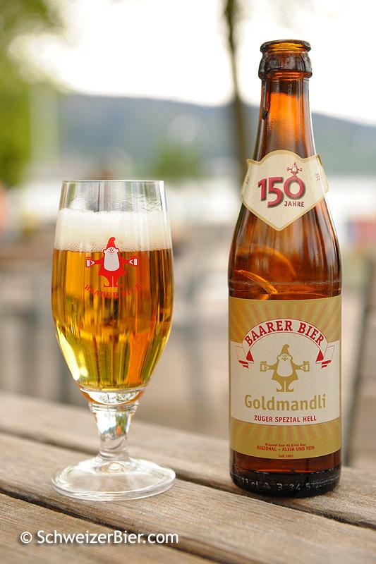 Baarer Bier - Goldmandli - Zuger Spezial Hell