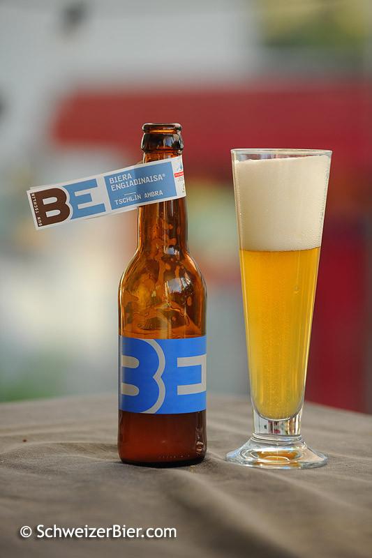 Biera Engiadinaisa - Tschlin Ambra - Amber Bier