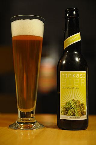 Appenzeller Ninkasi Bier