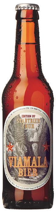 Stadtbier Chur - Viamala Bier