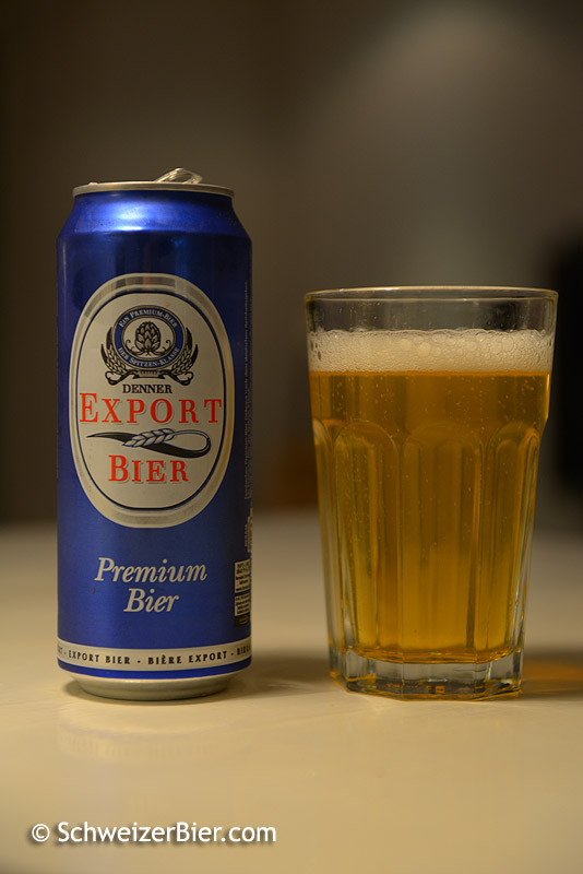 Denner Export Bier - Premium Bier