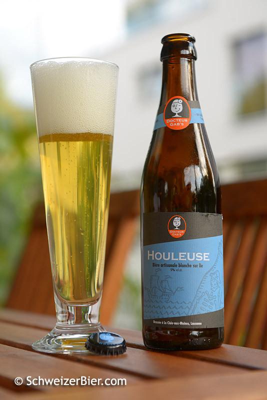 Docteur Gab's Houleuse - Biere artisanale blanche sur lie