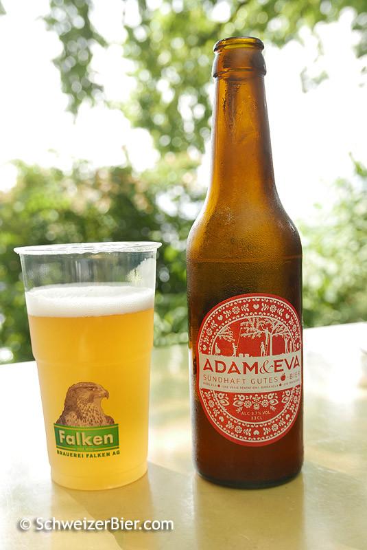 Falken Adam & Eva - sündhaft Gutes Bier - mit Apfelsaft - Flasche