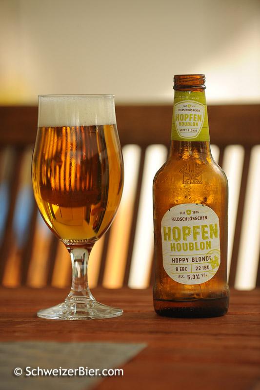 Feldschlösschen Hoppy Blonde - Hopfen - Houblon