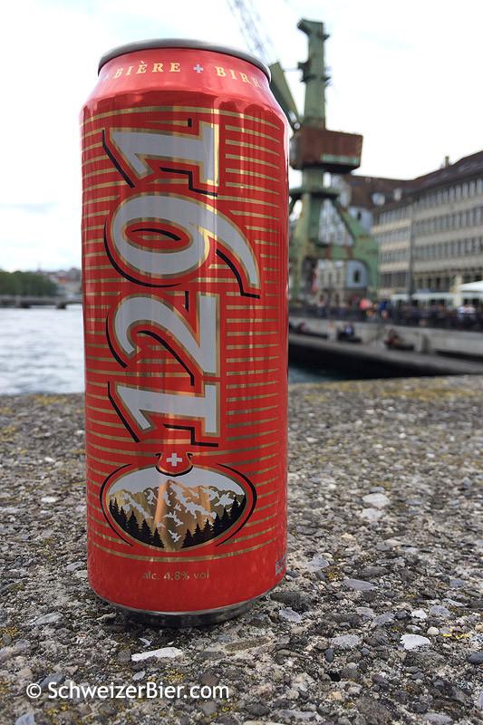 1291 Bier aus der Brauerei Feldschlösschen