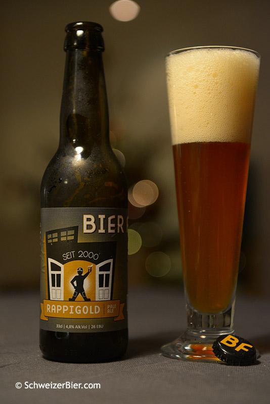 Bierfactory - Rappigold - Pale Ale