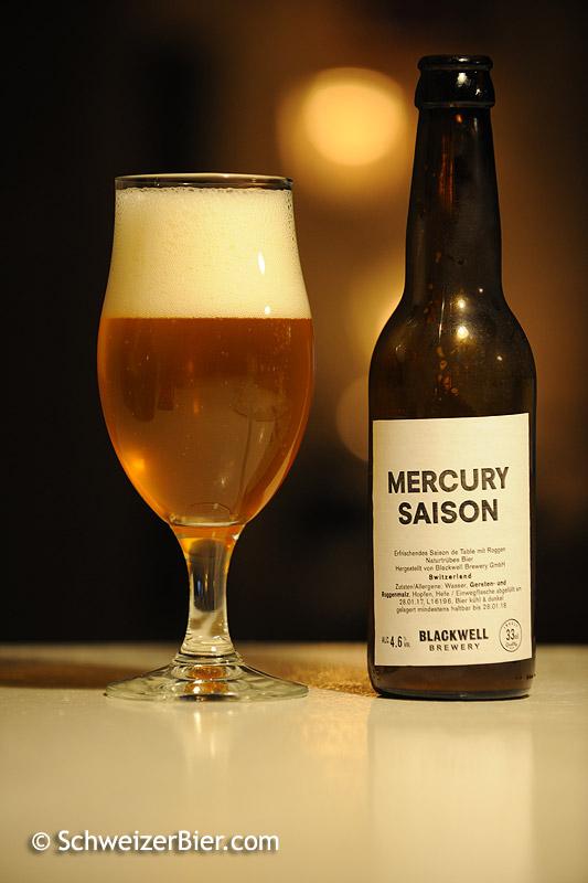 Mercury Saison - Blackwell Brewery