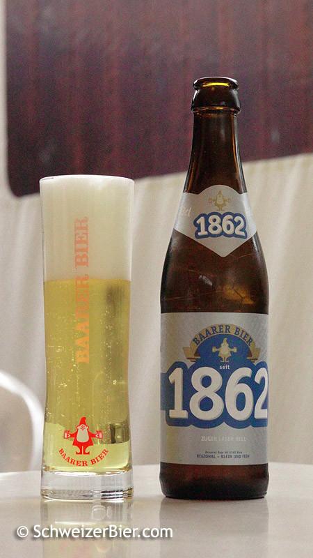 Baarer Bier Seit 1862 - Zuger Lager Hell