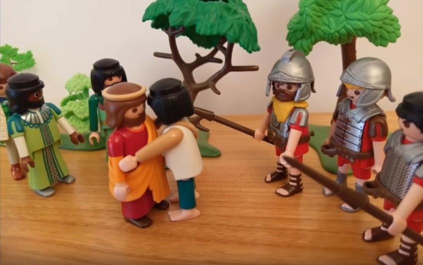 L'arrestation - Judas trahit Jésus