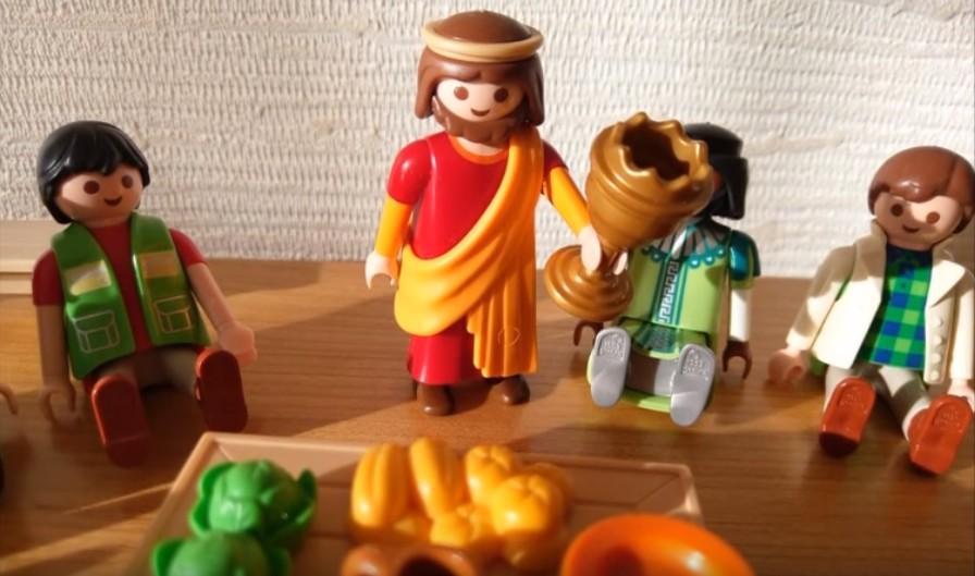 La Cène - Jésus bénit le vin