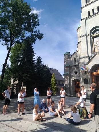 Les répétitions... sous le soleil - Zakopane