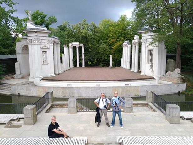 Le parc de Varsovie