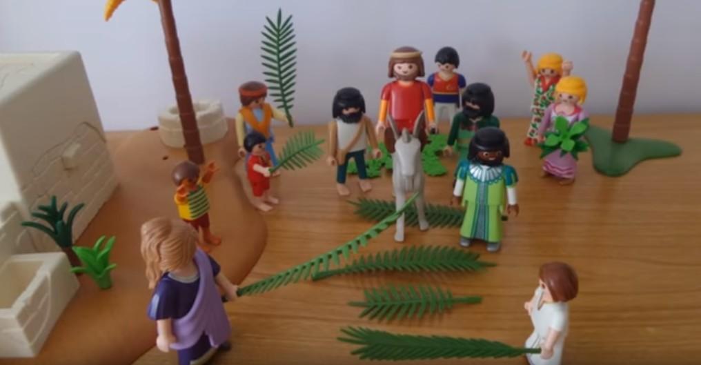 Les Rameaux : Jésus arrive à Jérusalem