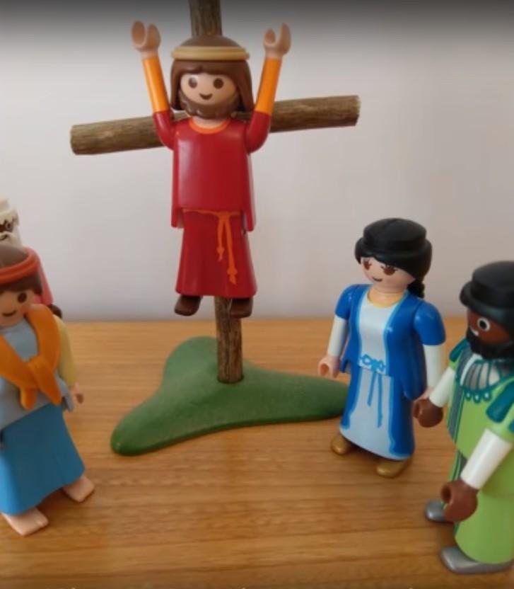 La mort en croix - Jésus meurt sur la croix