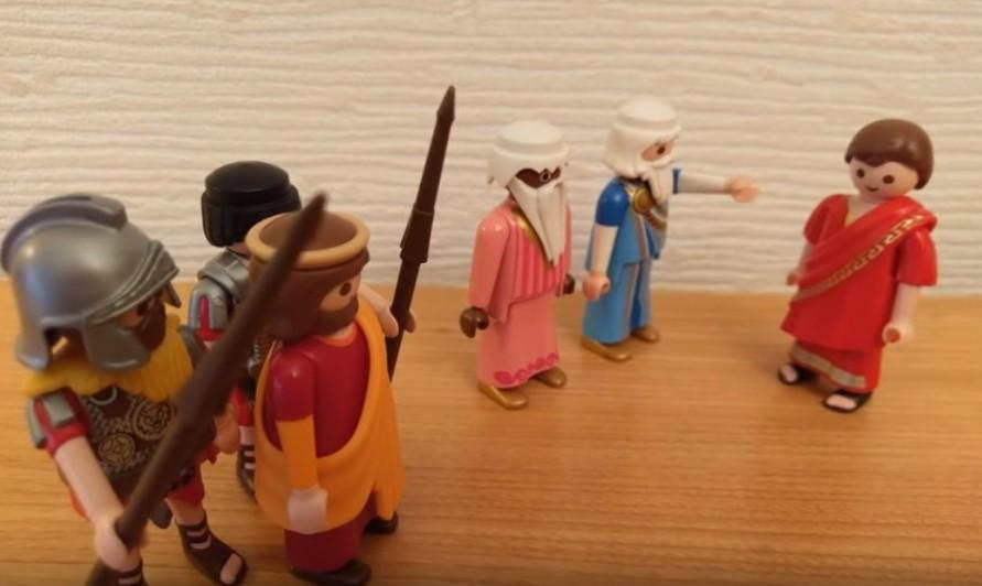 L'arrestation - Jésus est présenté à Ponce Pilate